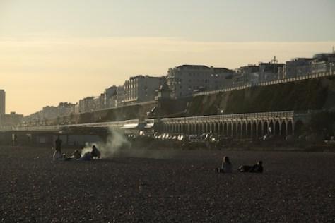 Barbecue's on Brighton Beach