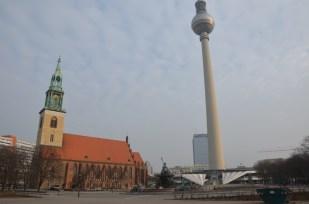 Berlin wieża telewizyjna