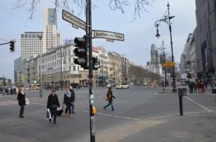 Ulica Ku'Damm Berlin