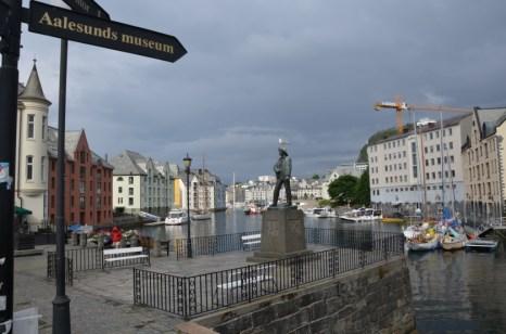 Centrum Alesund Norwegia