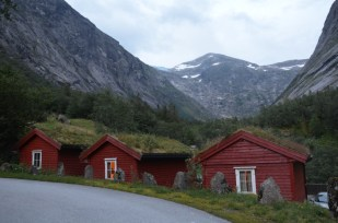 Nasza hytte w Lunde Norwegia