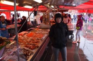 Targ rybny w Bergen Norwegia