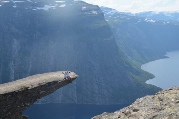 Trolltunga - Język Trolla Norwegia