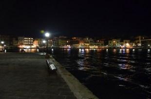 Chania nocą Kreta
