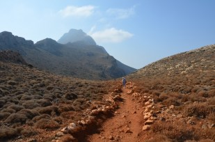 Droga na Balos Kreta