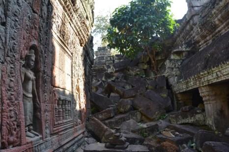 Angkor ruiny Kambodża