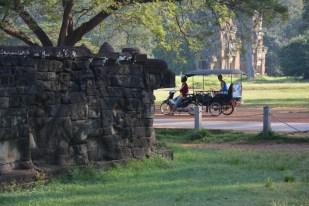 Angkor tuk-tukiem Kambodża