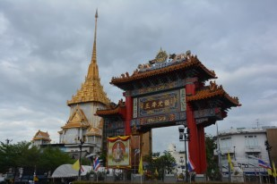 Bangkok Brama do Chinatown i Wat Traimit Tajlandia