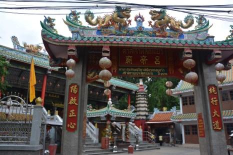Bangkok Pagoda w Chinatown Tajlandia