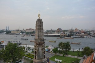 Bangkok widok z Wat Arun Tajlandia