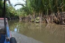 Delta Mekongu łodzią motorową Wietnam