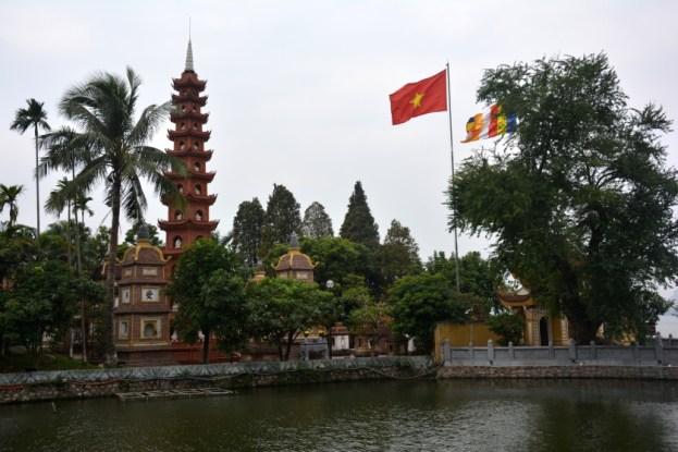 Hanoi Pagoda Wietnam