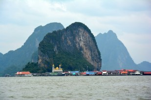 Phang Nga pływająca wioska Tajlandia