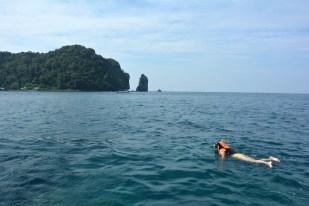 Phi Phi snorkeling Tajlandia