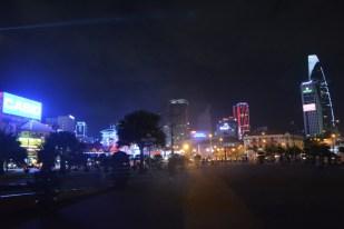 Sajgon nocą Wietnam