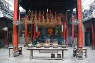 Sajgon pagoda w chońskiej dzielnicy Wietnam