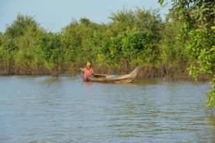 Tonle Sap droga wodna na jezioro