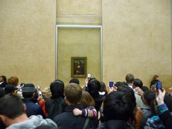 Mona Lisa w Luwrze Paryż