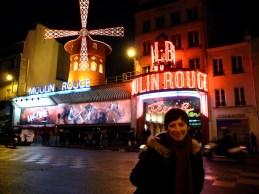 Moulin Rouge na Placu Pigalle Paryż