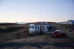 Chatka w pobliżu Borgarnes Islandia
