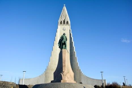Kościół Hallgrimskirkja Islandia