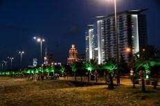 Batumi nocą Gruzja