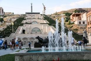Kaskady w Erywaniu Armenia
