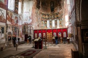 Monastyr Gelati w środku Gruzja