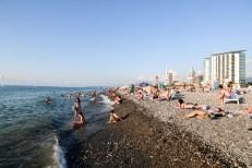 Plaża w Batumi Gruzja