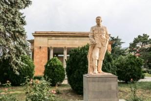 Pomnik Stalina w Gori Gruzja