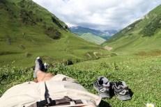 Relaks w Ushguli Gruzja