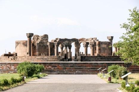 Zwartnoc i Ararat Armenia