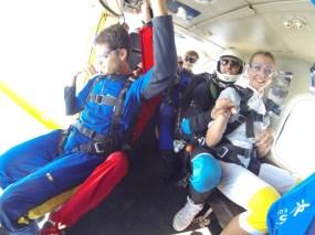 Tuż przed skokiem spadochronowym