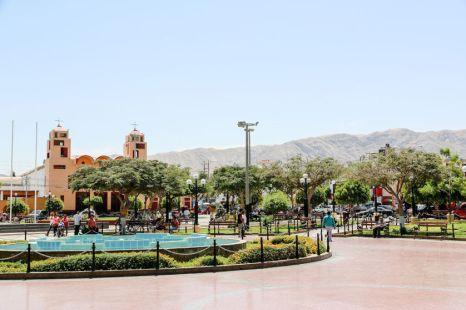 Centrum Nazca Peru