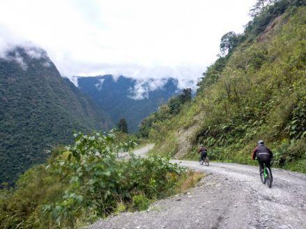 Droga Śmierci La Paz Boliwia 13