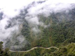 Droga Śmierci La Paz Boliwia 9