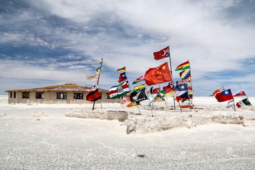 Hotel z soli Salar de Uyuni Boliwia