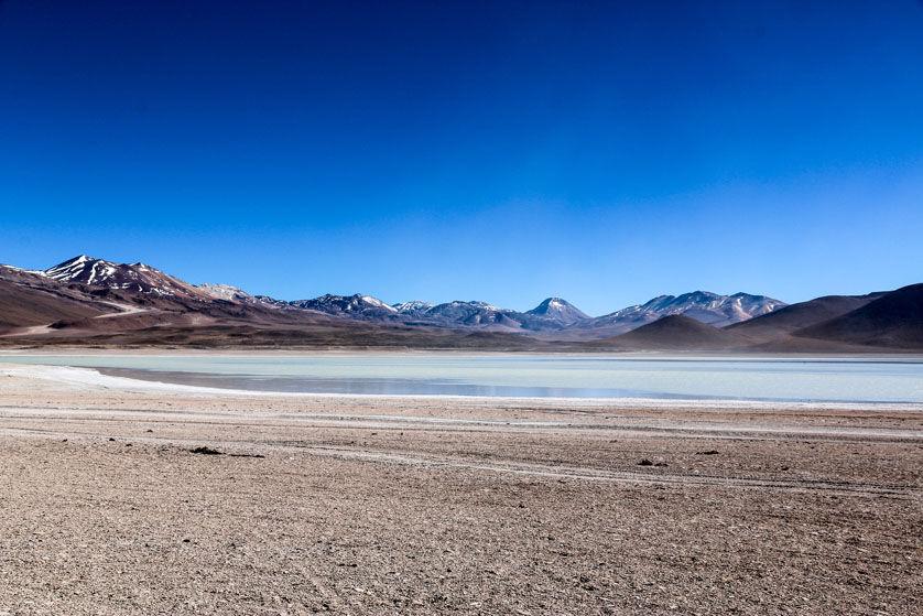Laguna Blanca wycieczka Salar de Uyuni Boliwia