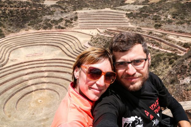 Ogród-laboratorium w Moray Peru