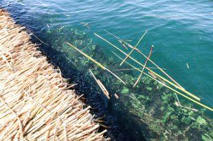Pływające wyspy Uros Peru