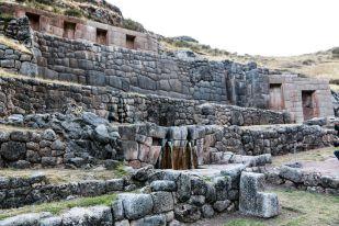 Świątynia wody Tambomachay Cusco Peru