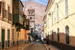 Uliczki Potosi Boliwia