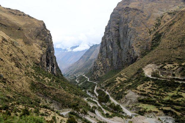 W drodze do Aguas Calientes Peru