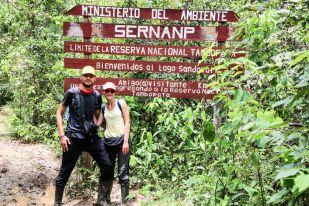 Wejście do Parku Narodowego Tambopata Peru
