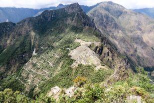 Widok z Wayna Picchu Peru