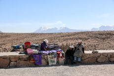 Wulkan na wycieczce do kanionu Colca Peru