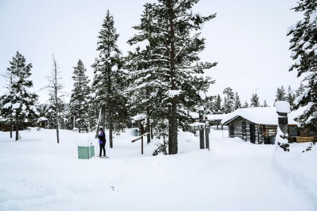 Nasze domki w Saariselkä Finlandia