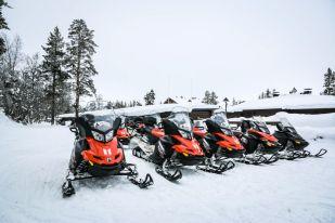 Skutery śnieżne Finlandia