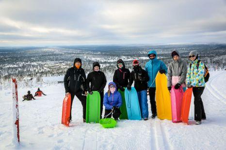 31 ekipa saneczkarzy Finlandia