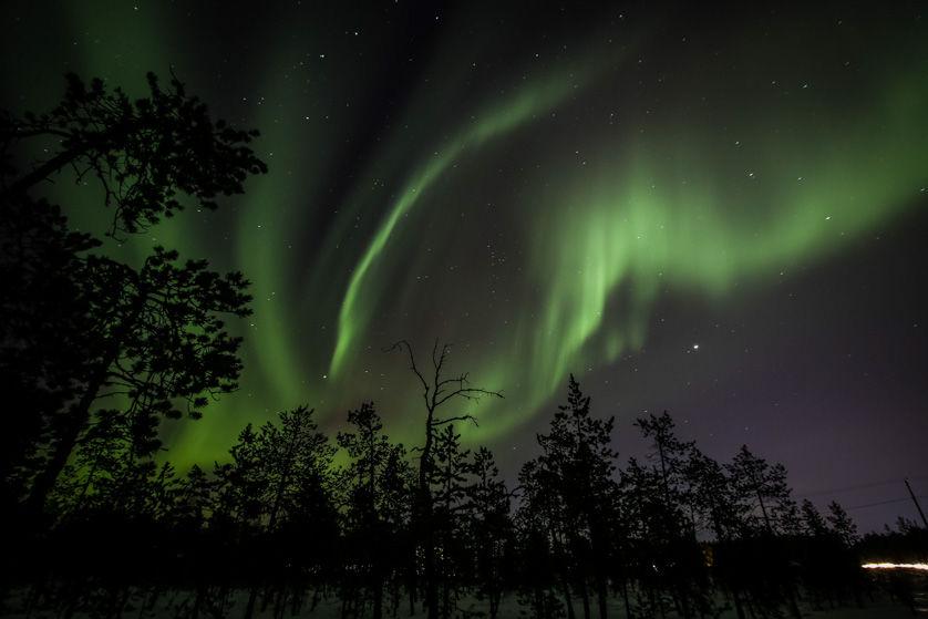 Zorza polarna Finlandia 4